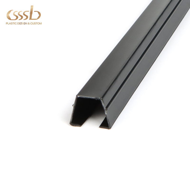 Upvc electrical channel for cable pvc extrusion plastic custom extrusion profile for cabinet