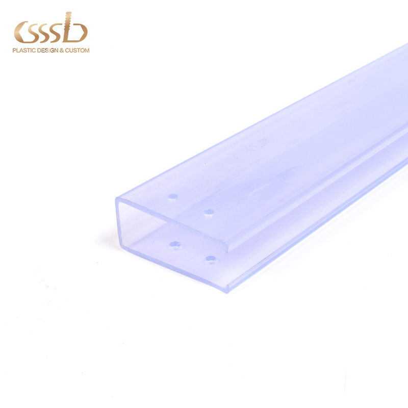 PVC U channel for electronic components packing