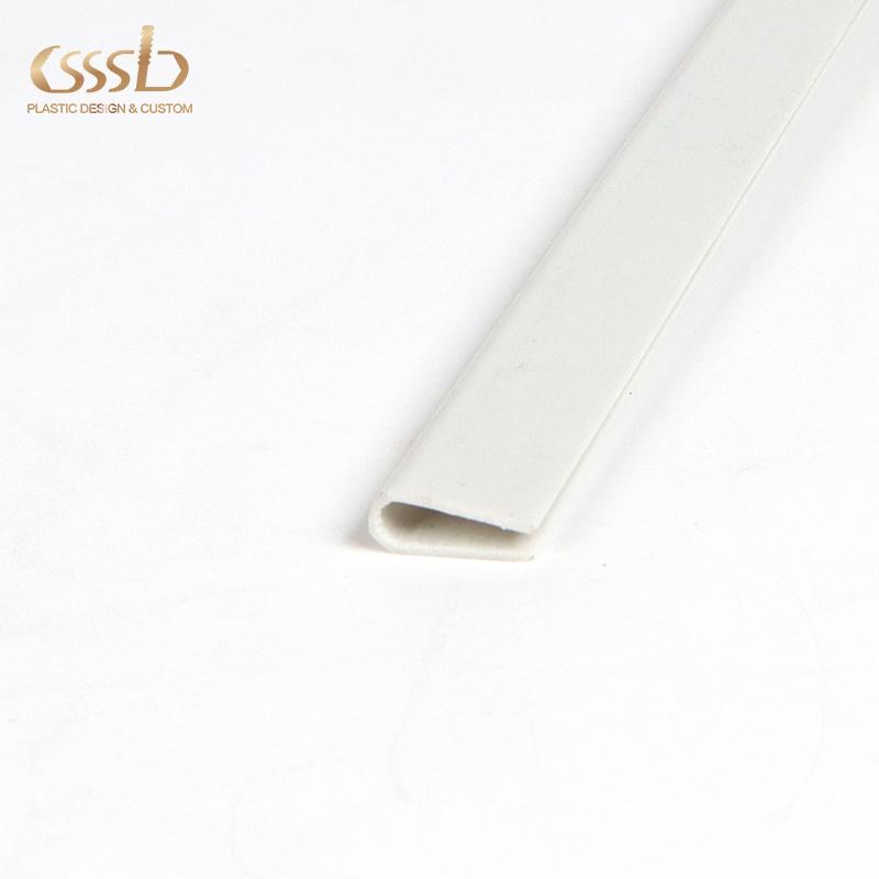 Custom size waterproof Flexible polyethylene White epe U-Channel protect furniture glass Edge Protector