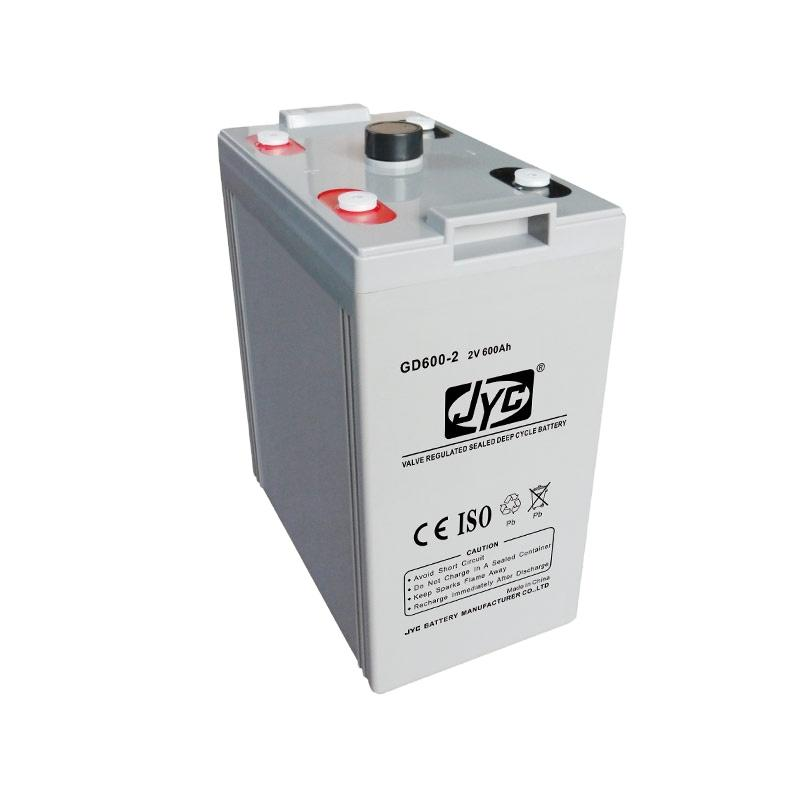 Guangzhou Deep Cycle UXL 600-2 Battery 2V 600Ah for UPS and Wind Solar Energy Hybrid Power System