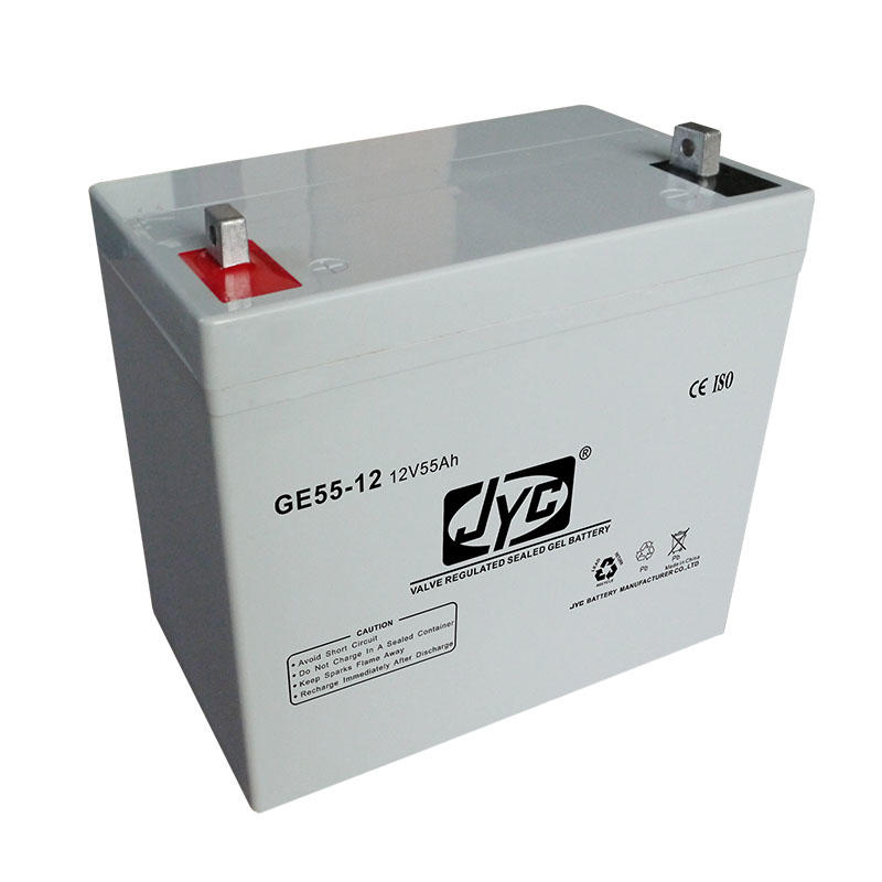 Rechargeable VRLA Battery 12V 55Ah 20hr Solar Gel Battery for UPS/Solar System