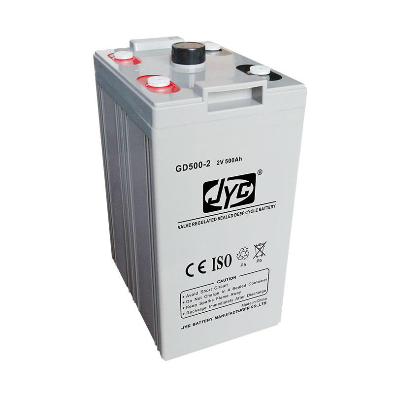 2V 500Ah VRLA AGM MF Battery Cell 12S1P Formed Solar UPS 12V 500Ah Deep Cycle Battery