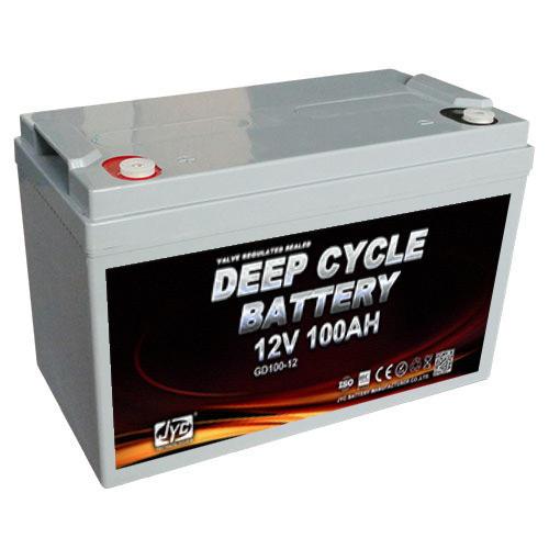 JYC 12V 100Ah Deep Cycle Battery 2S1P Formed 24V 100Ah Communication Telecom Base Station Battery