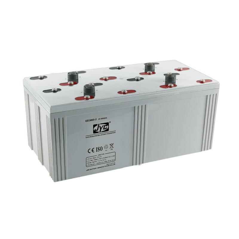 Nominal Voltage High Capacity Solar Battery 2v 3000ah Gel Battery