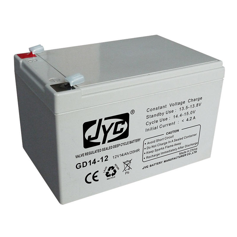 Hot quality 12v 14ah deep cycle battery