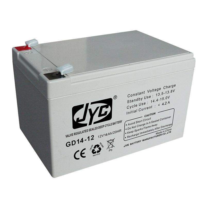 Hot quality 12v 14ah deep cycle battery