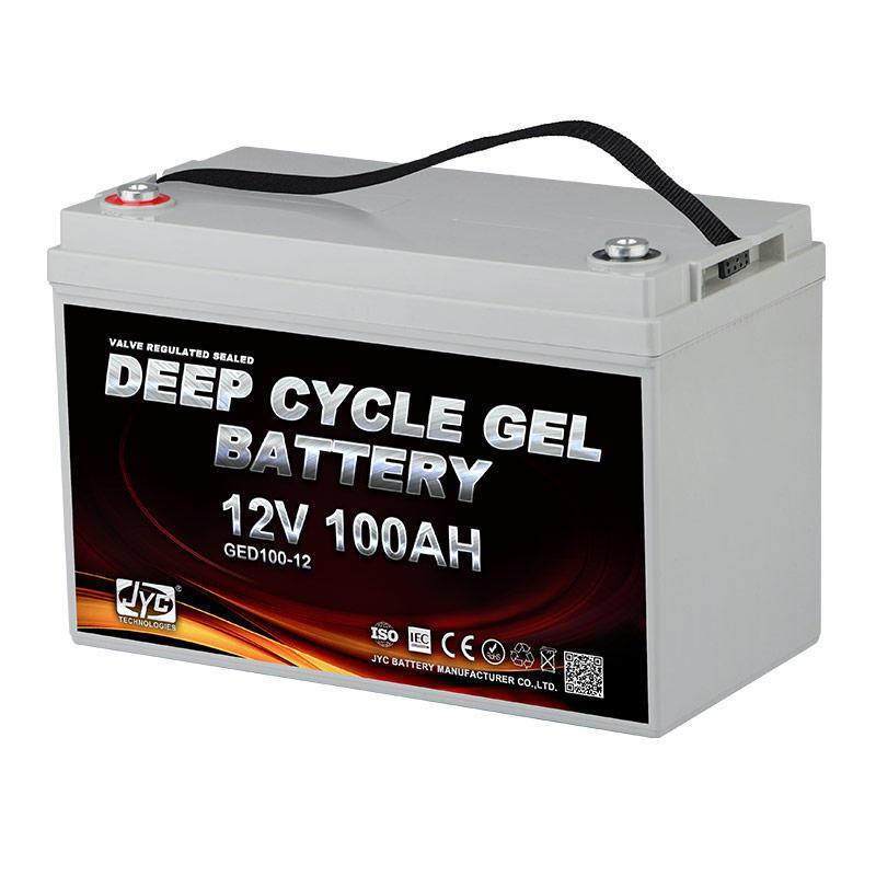 12V 100Ah Solar UPS Deep Cycle Gel Battery 2S1P Formed 24V 100Ah AGM Sealed Lead Acid Battery