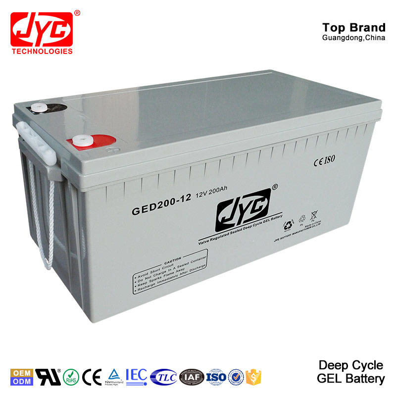 Solar UPS Inverter Battery China Supplier Best Price High Quality Deep Cycle Gel 12V 200ah