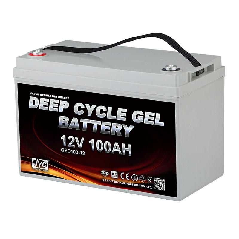 Maintenance Free Sealed VRLA Battery 12v 100ah Deep Cycle Battery