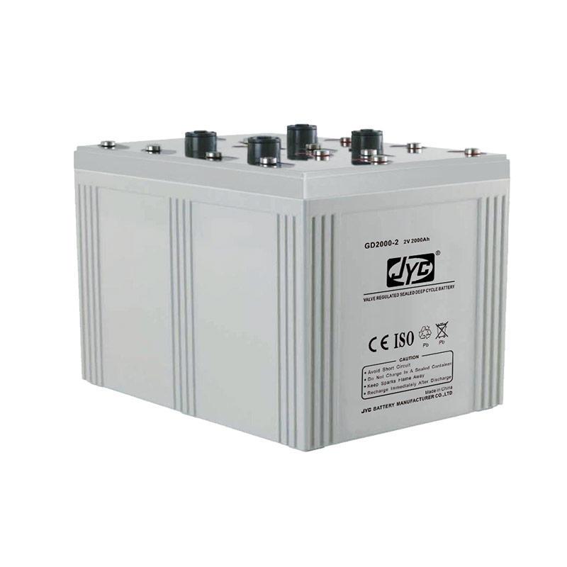 2v 2000ah battery 2 volt deep cycle batteries for solar wind telecom system