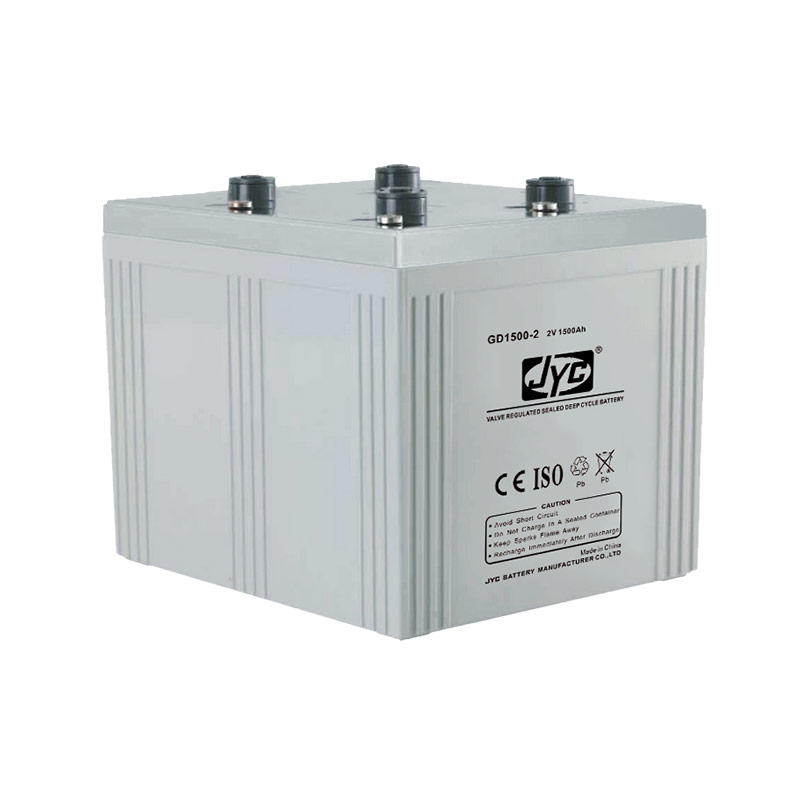 High cost performance agm deep cycle 2v 1500ah battery for solar system
