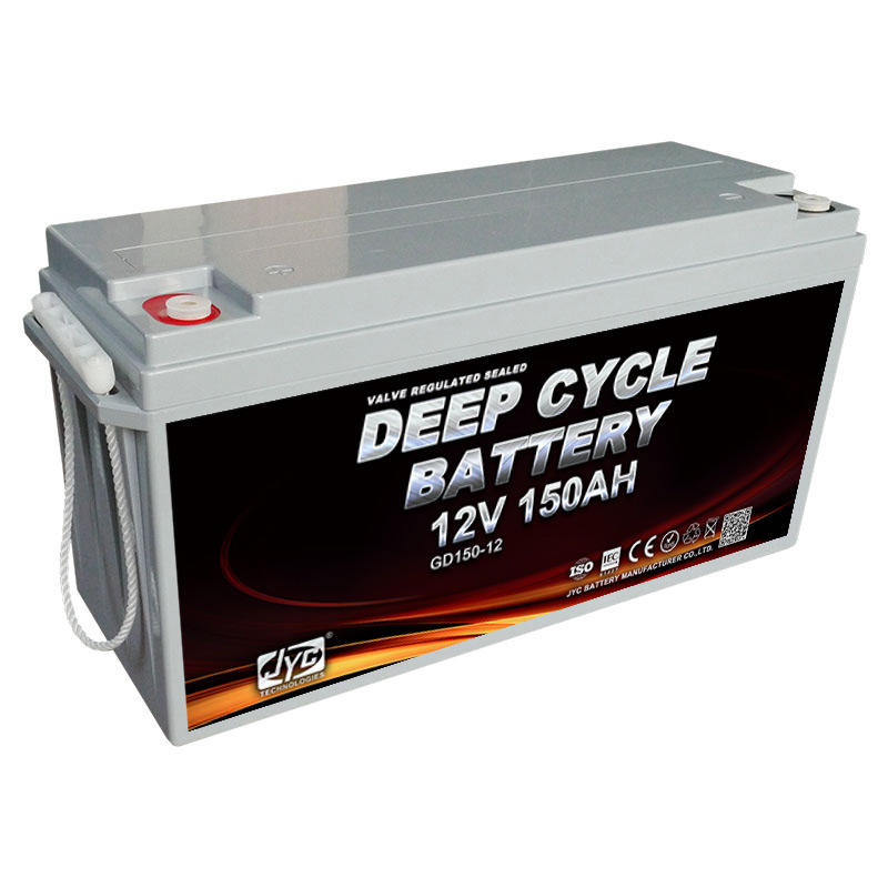 ISO CE ROHS TLC Certificate deep cycle 12v 150ah battery for solar system/ups/telecom