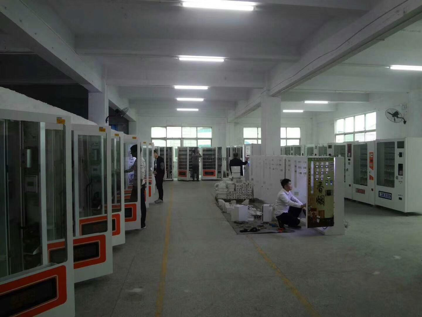 CE certificate factory produce Snack and Drink Vending Machine
