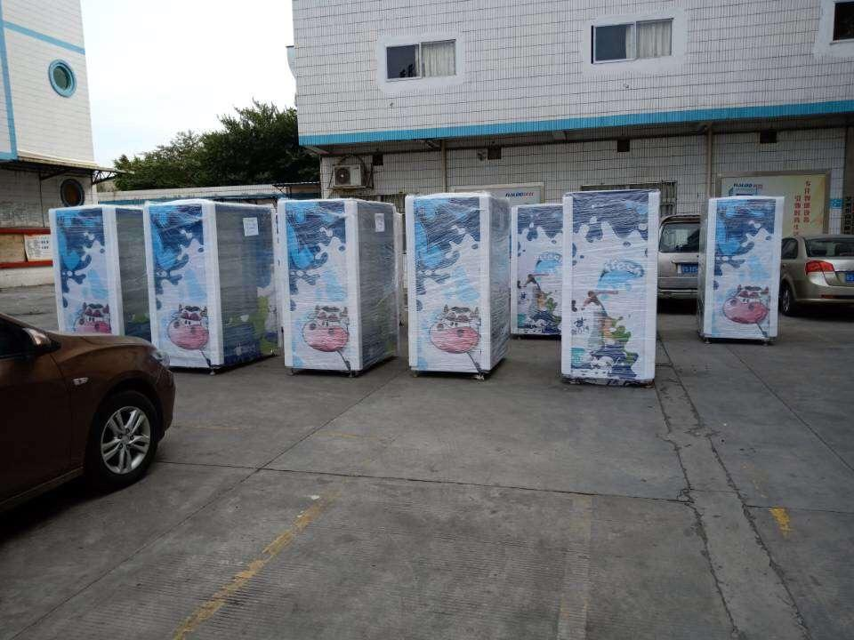canned beverage vending machine and beer coffee vending machine with refrigerator