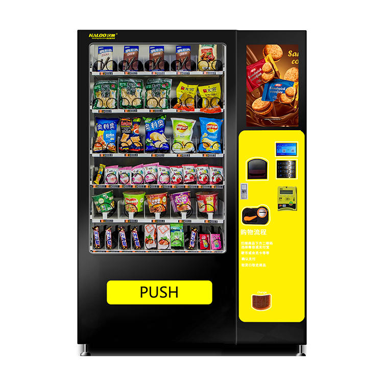 Custom commercial Bottling Beverage Vending Machine Combination vending machine with Snack Drinks