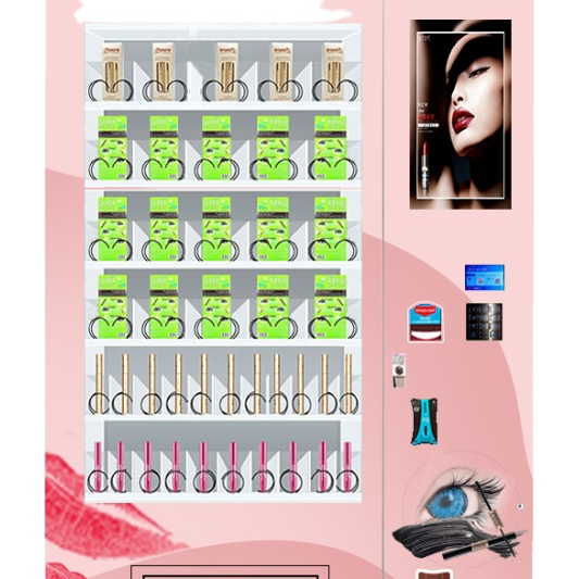 Cosmetic hair make up beauty vending machine