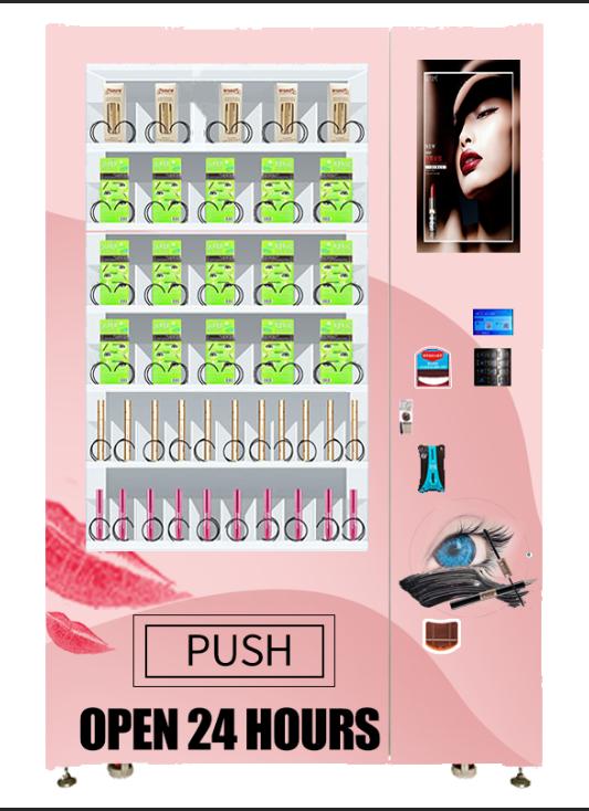 Cosmetic hair make up beauty vending machine