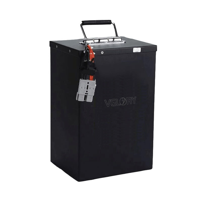 Intelligent charge system golf cart battery lithium 72v 30ah