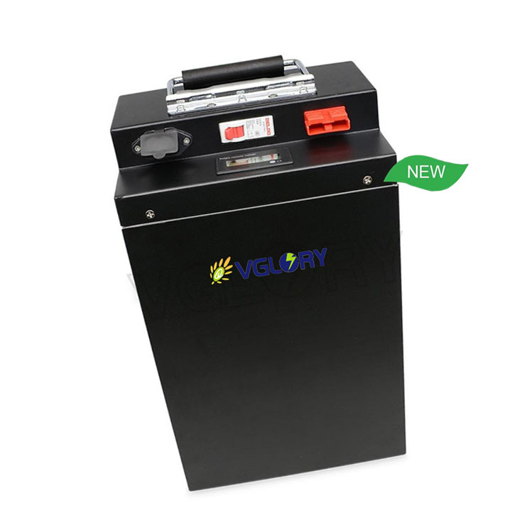 Environmentally compatible lithium marine battery 72v 20ah