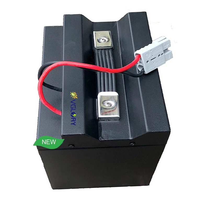 Powerful optional Be discharged anytime lithium battery 72v