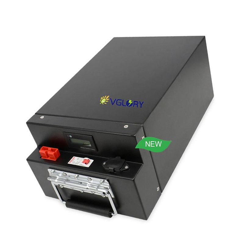 Powerful optional High density of energy 72v lifepo4 lithium battery