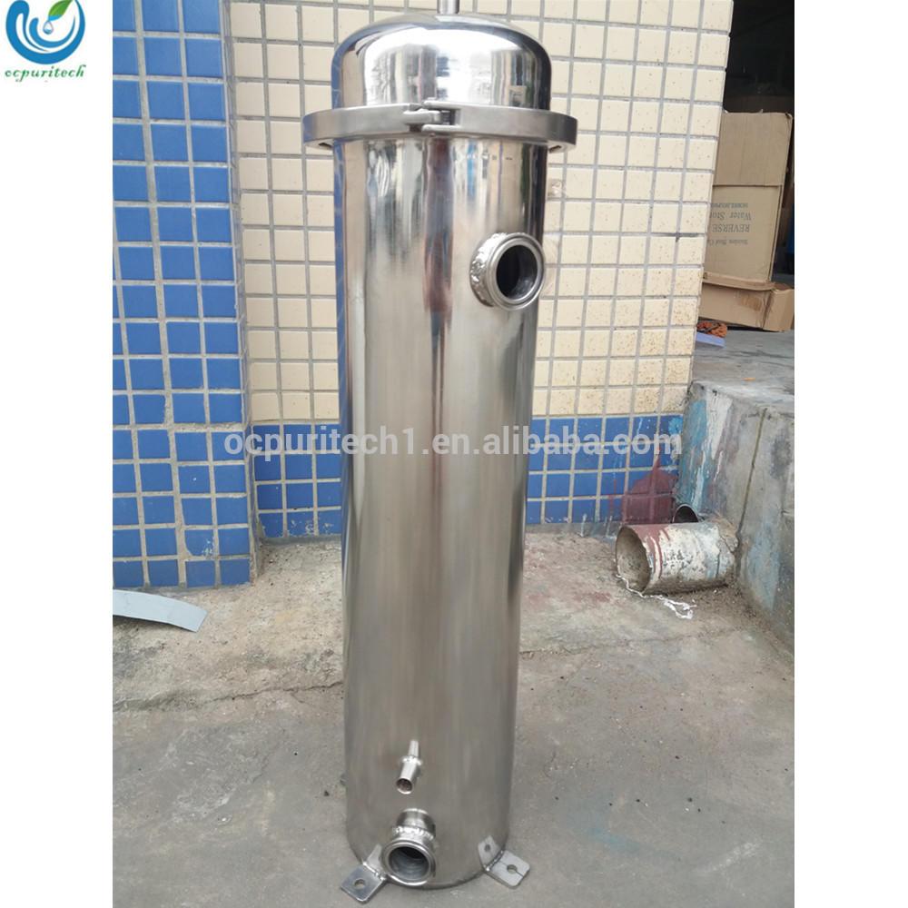 "10"" 20"" 30"" 40"" stainless steel high pressure micro filter cartridge water filter housing"