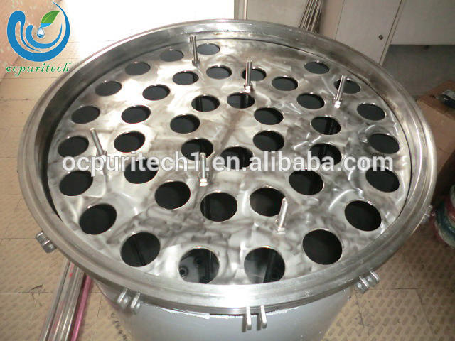 Industrial Stainless Steel Cartridge Filter Housing for RO System