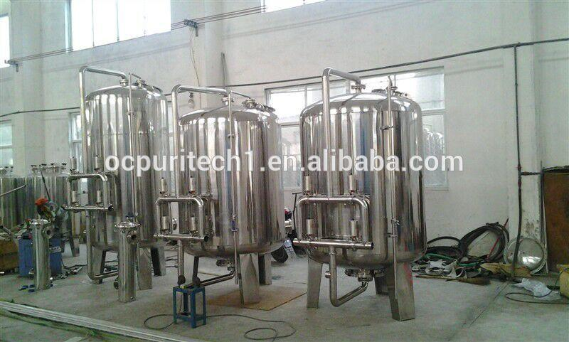 Stainless steel material industrial use large Sand filter / activated carbon filter