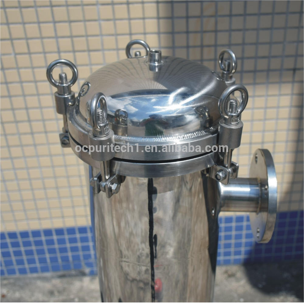 Water Filter Cartridge Housing in Stainless Steel Material