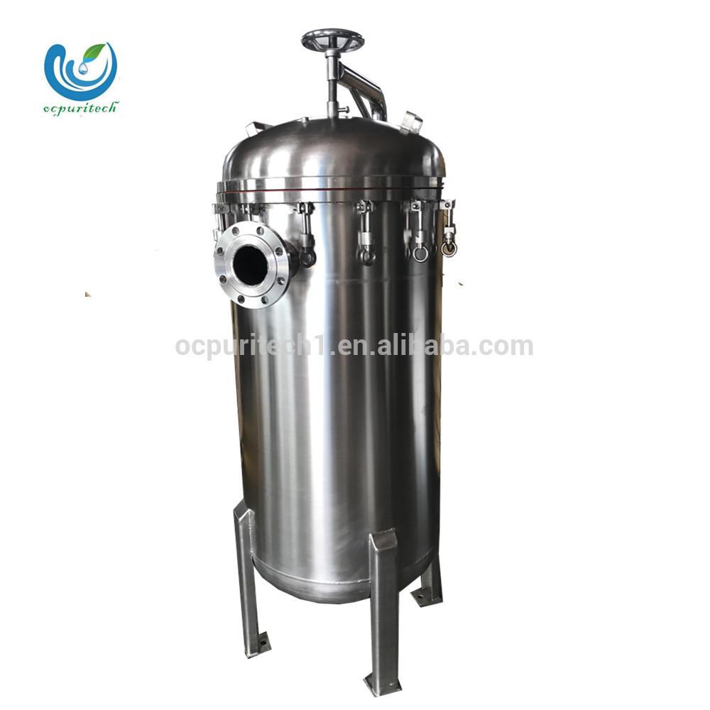 SUS304/316 Micron Cartridge housing water filter
