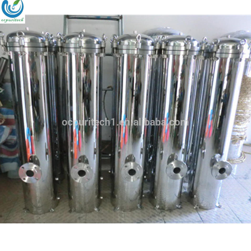 stainless steel cartridge water filter housing for water treatment system