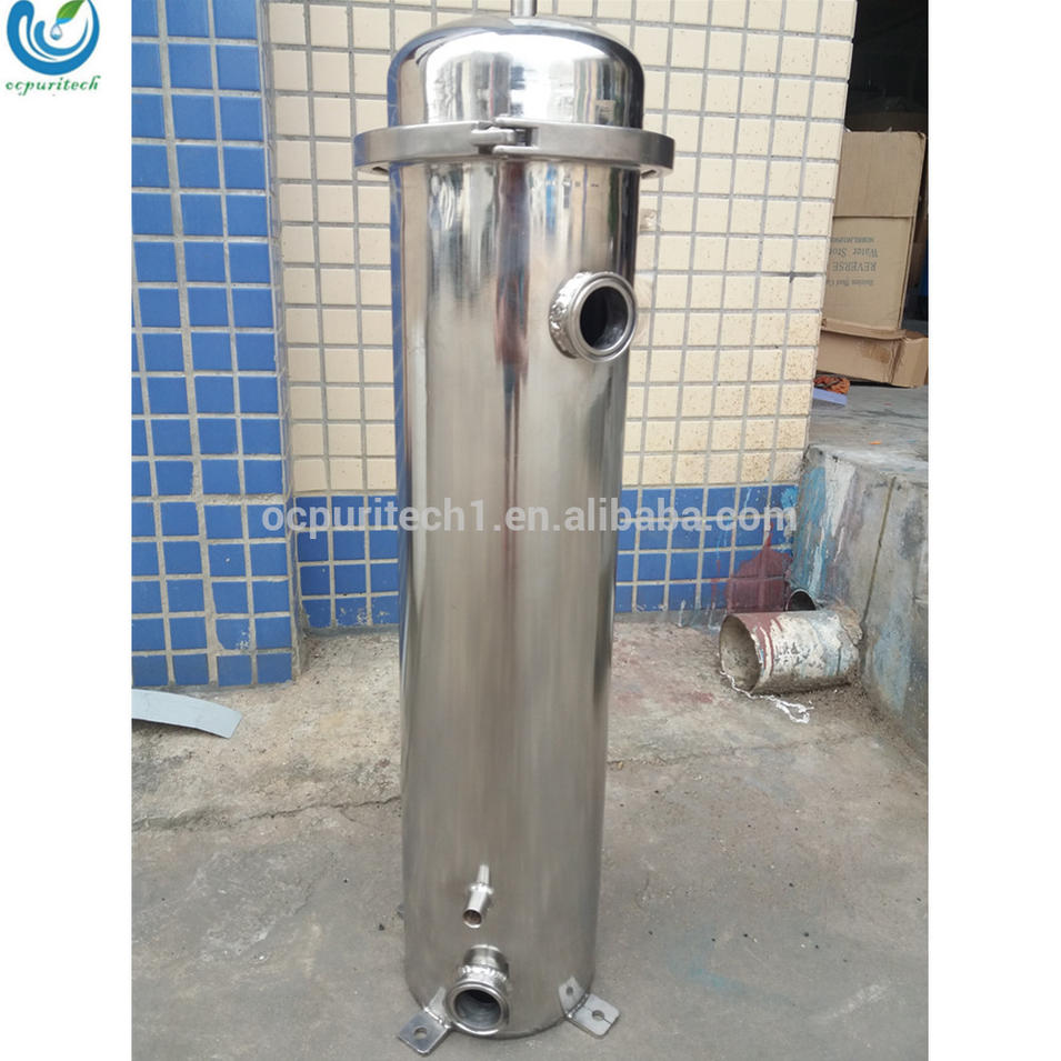 Stainless steel micro filter for water filtration