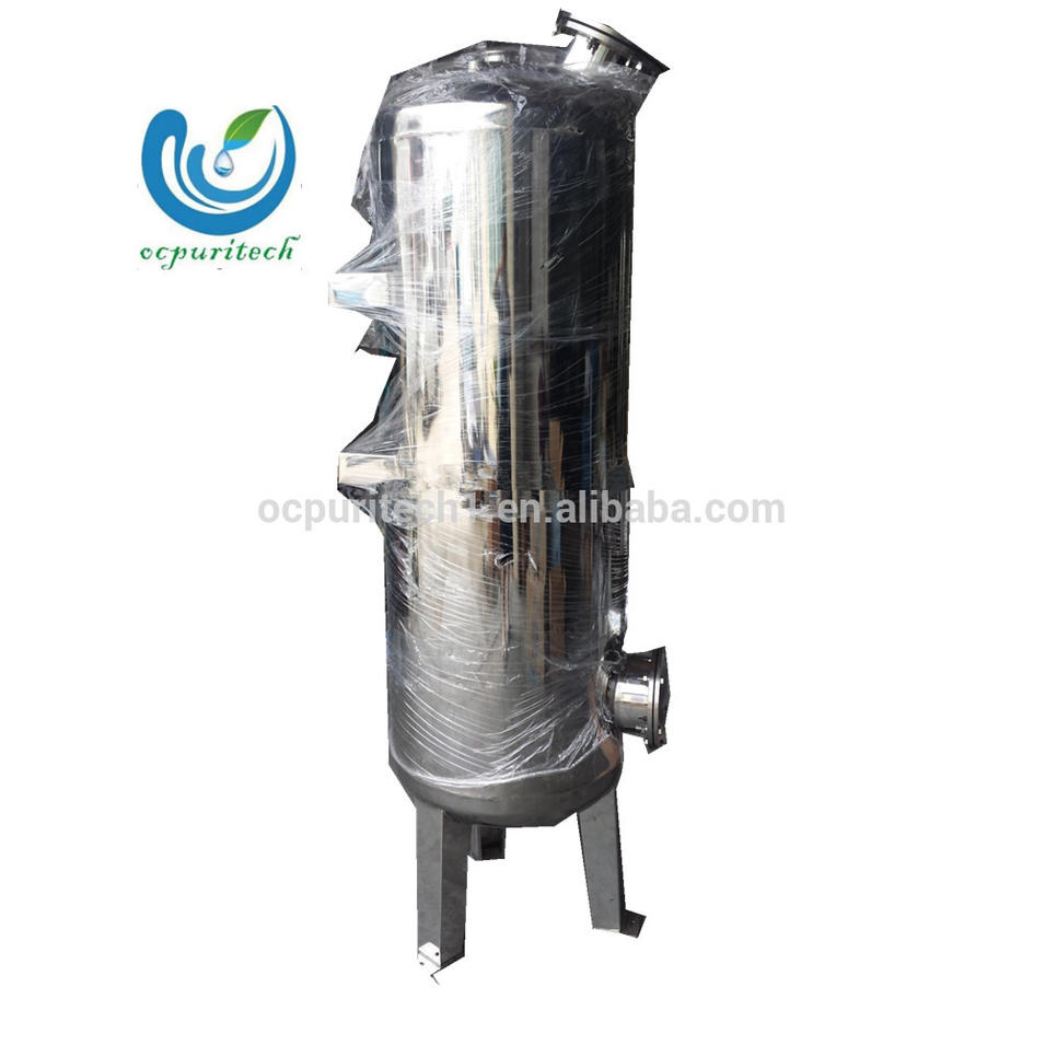 Sanitary food grade mechanical Sand carbon water filter housing