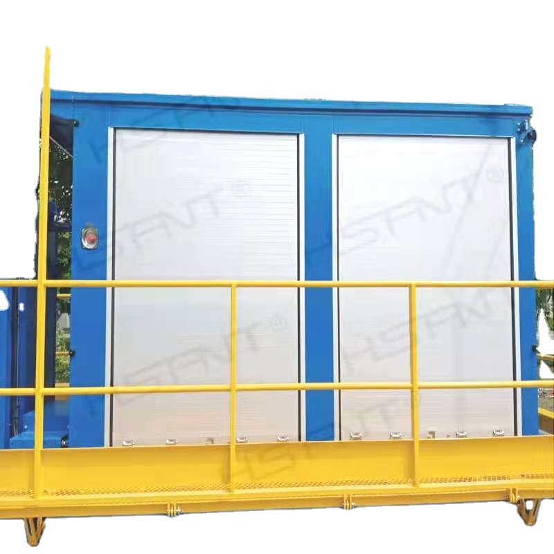Fire trucks aluminium automatic rolling shutter door for track
