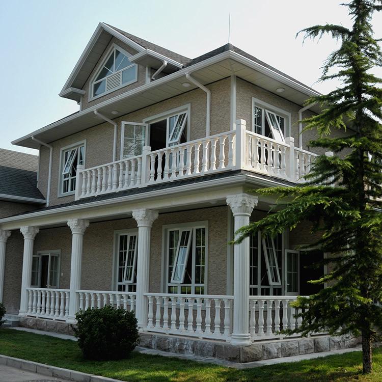 Modern light steel frame premade villa house for sale