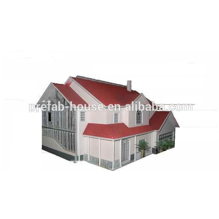 light gauge steel structure villas