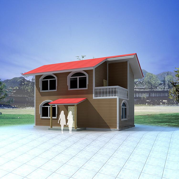 Prefab Modern Standard Luxury Prefabricated Light Steel Frame House Villa