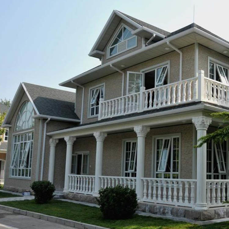 light steel house villa with multi rooms suitable for big family