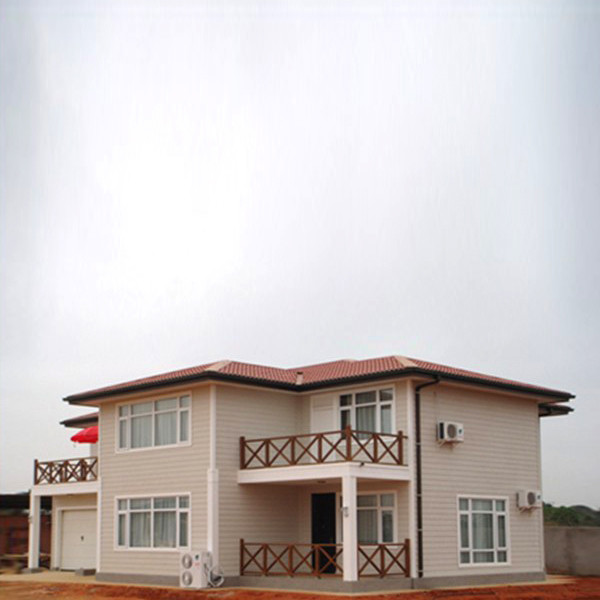 Lithuania light steel villa for holiday house with CE certificate