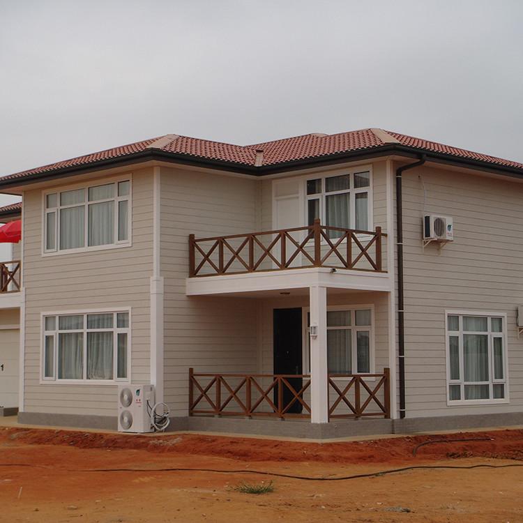 Small pre prefabricated houses prefab luxury light steel frame villa