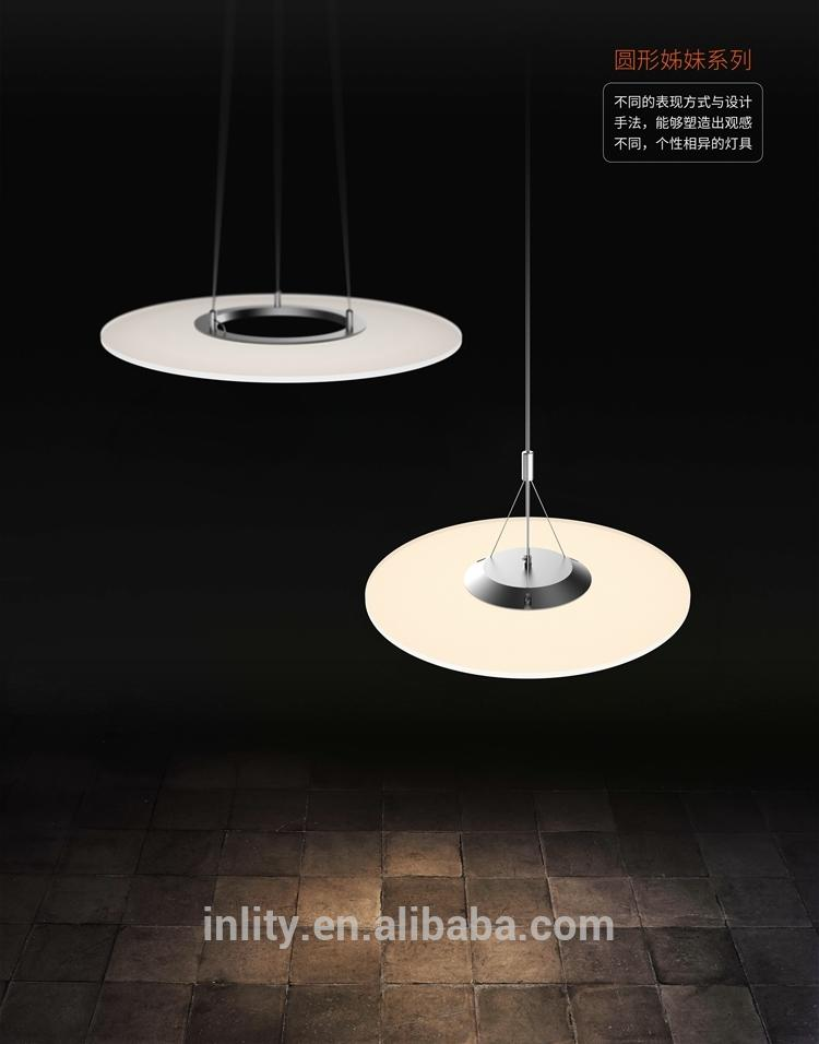 Latest Products In Market 24W Round Clear Panel Pendant Led Light With Best Quality