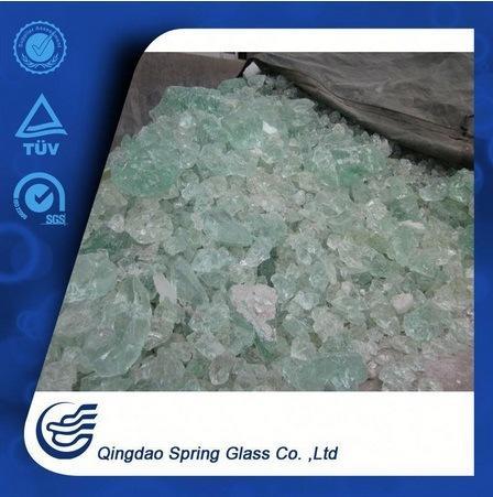White Clear Decorative Glass Stones