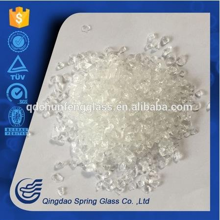 White Glass Powder for Decoration From Spring