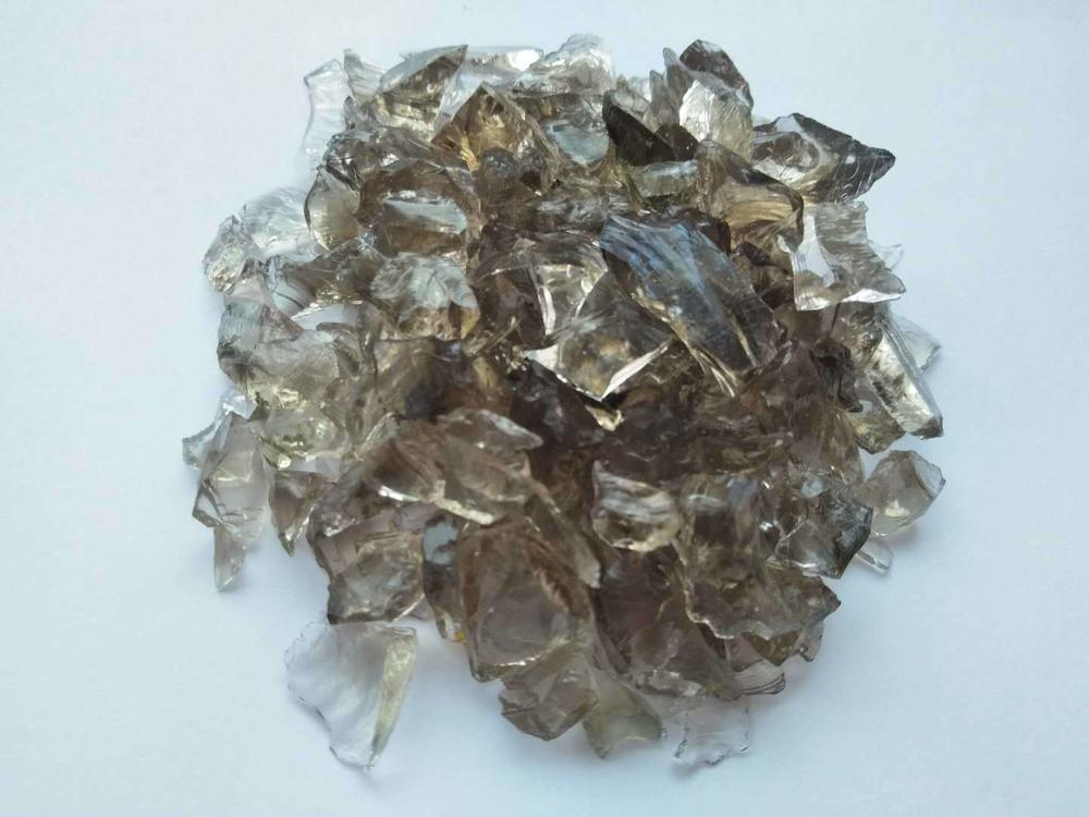 Crushed Light-Grey-Faced Mirror Particles for Wholesale