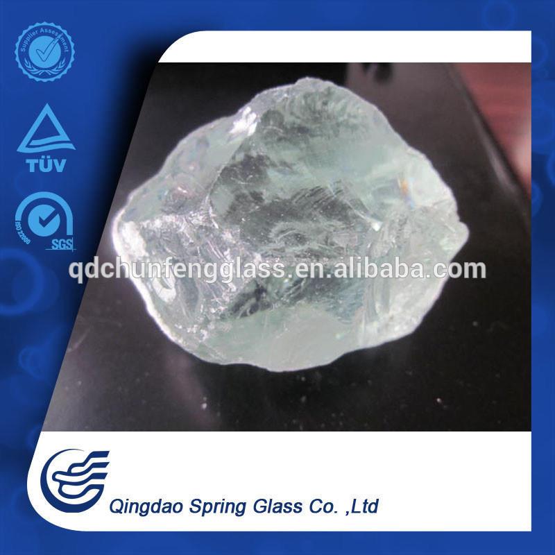 Fireplace White Glass