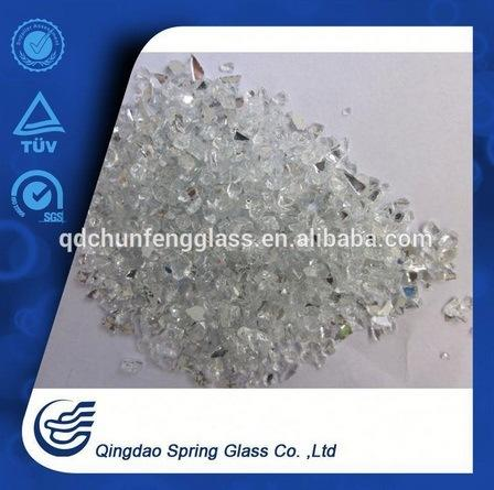 1.25 - 2.50 mm Crushed Silver Mirror Chips