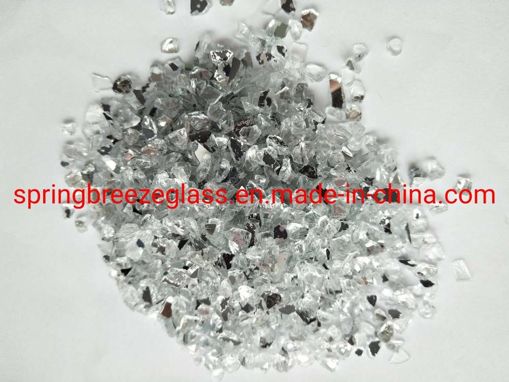 Crushed Mirror Glass for Quartz Surfaces Used in Kitchen Countertops