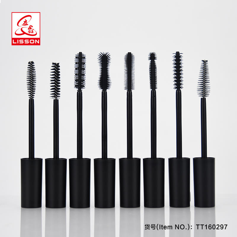10ml 15ml Soft Mascara tube Packaging Mascara cream Container Cosmetic Cream Packaging With Silicon Brush