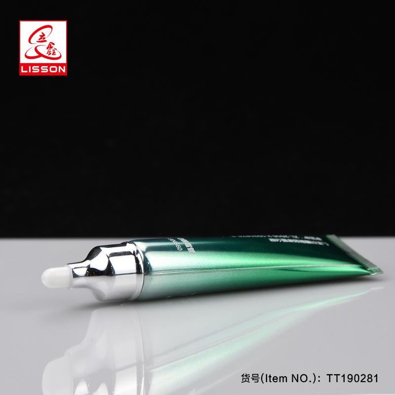 15ml high gloss laminated tube packing for eye cream acne treatment and hand cream