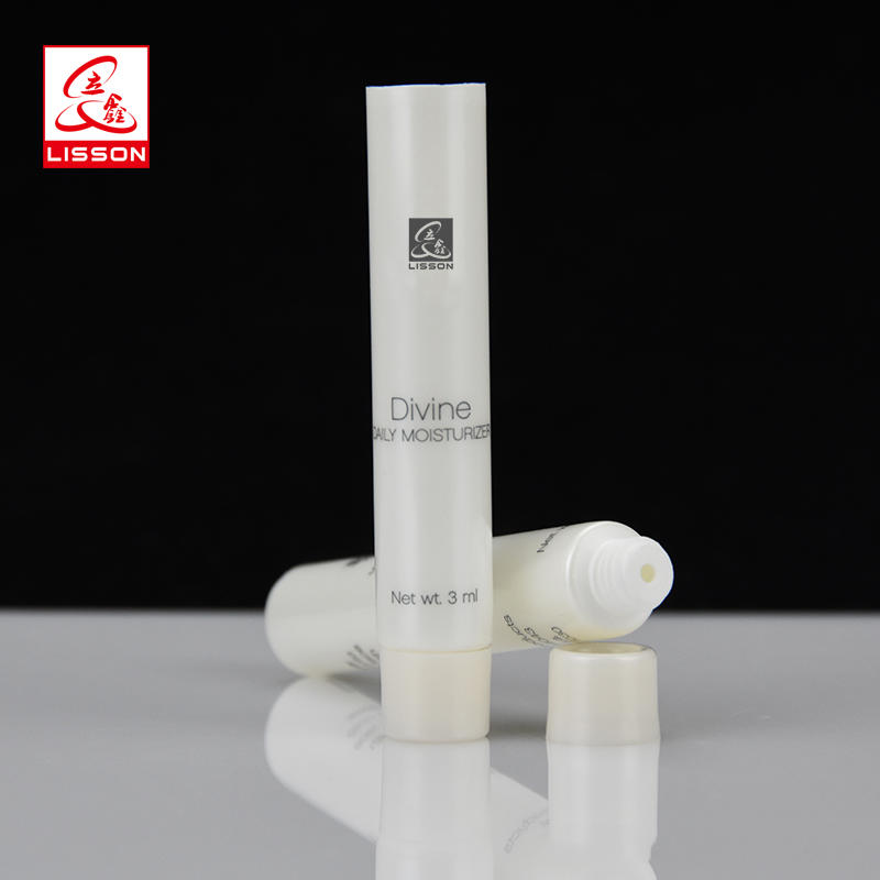 3ml 5ml 7ml 10ml 15ml 20ml Empty Airless Cosmetic Plastic Test Tube Packaging With Screw Cap